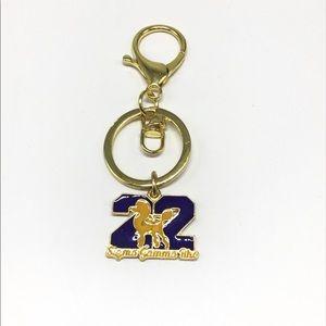 Sigma Gamma Rho Keychain